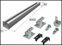Комплект DoorHan для откатных ворот с балкой 71 х 60 (до 400 кг.)