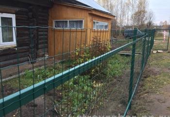 забор из рулонной сетки ГрандЛайн