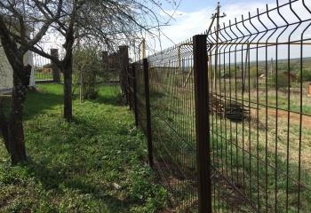 Забор из 3d панелей в Лукино
